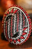 Huevo adornado Foto de archivo libre de regalías