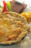 huevo Cacerola-frito Fotos de archivo libres de regalías