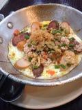 huevo Cacerola-frito Foto de archivo