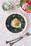 Huevo cocido fresco imagen de archivo libre de regalías