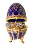 Huevo con joyería Fotografía de archivo libre de regalías
