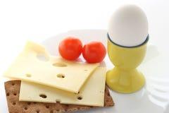 Huevo con queso Imagenes de archivo