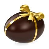 Huevo de chocolate ilustración del vector