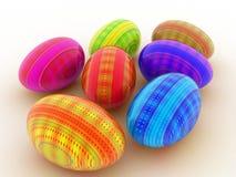 huevo de 3D Pascua ilustración del vector
