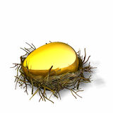 Huevo de jerarquía 1 Fotografía de archivo