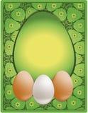 Huevo de la enhorabuena de Pascua Imagenes de archivo