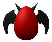 Huevo de los diablos ilustración del vector