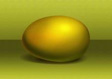 Huevo de oro Fotografía de archivo libre de regalías