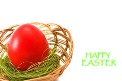 Huevo de Pascua. Imágenes de archivo libres de regalías