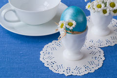 Huevo de Pascua. Foto de archivo