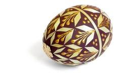 Huevo de Pascua adornado Fotos de archivo
