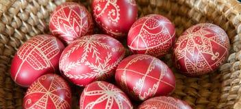 Huevo de Pascua adornado fotografía de archivo libre de regalías
