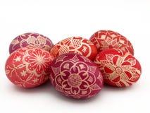 Huevo de Pascua colorido Fotos de archivo libres de regalías