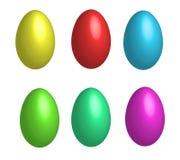 Huevo de Pascua colorido Stock de ilustración