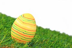 Huevo de Pascua colorido Imágenes de archivo libres de regalías