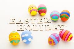 Huevo de Pascua colorido Imagen de archivo libre de regalías