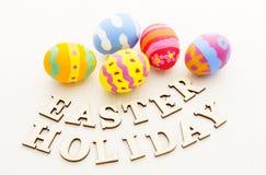 Huevo de Pascua colorido del patterm Imagen de archivo libre de regalías