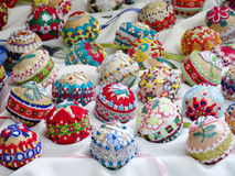 Huevo de Pascua colorido del recuerdo Imágenes de archivo libres de regalías
