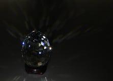 Huevo de Pascua de cristal Fotos de archivo