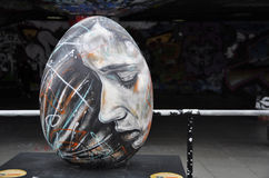 Huevo de Pascua de David Walker Foto de archivo