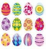 Huevo de Pascua de la historieta stock de ilustración