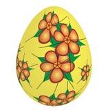 Huevo de Pascua de oro foto de archivo