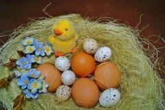 Huevo de Pascua - decoración de Pascua Fotografía de archivo