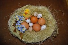 Huevo de Pascua - decoración de Pascua Imagenes de archivo
