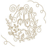 Huevo de Pascua decorativo Imagen de archivo libre de regalías