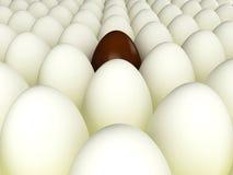 Huevo de Pascua del chocolate stock de ilustración