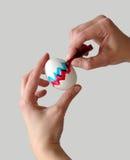 Huevo de Pascua del colorante Fotografía de archivo libre de regalías