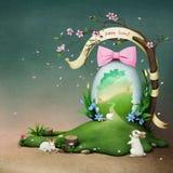 Huevo de Pascua del día de fiesta libre illustration