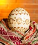 Huevo de Pascua del Lithuanian Fotos de archivo