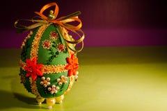 Huevo de Pascua del paño Imagenes de archivo