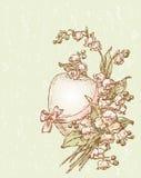 Huevo de Pascua del vintage Imagen de archivo libre de regalías