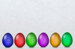 Huevo de Pascua diferente imagen de archivo libre de regalías