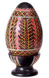 Huevo de Pascua en el fondo blanco foto de archivo libre de regalías