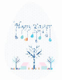 Huevo de Pascua feliz 2014 Imagenes de archivo