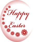 Huevo de Pascua feliz Fotos de archivo