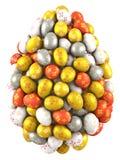 Huevo de Pascua grande Fotos de archivo libres de regalías