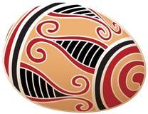 Huevo de Pascua hermoso Imagen de archivo libre de regalías