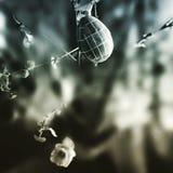 Huevo de Pascua Mirada artística en estilo del duotone fotos de archivo