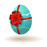 Huevo de Pascua - Pascua feliz Imágenes de archivo libres de regalías