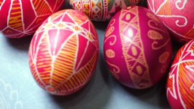 Huevo de Pascua Pysanka metrajes