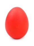 Huevo de Pascua rojo foto de archivo