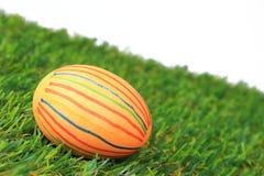 Huevo de Pascua teñido colorido Imágenes de archivo libres de regalías
