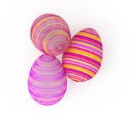 Huevo de Pascua transparente ilustración del vector