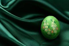 Huevo de Pascua - verde Imágenes de archivo libres de regalías