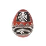 Huevo de piedra de la esteatita Fotografía de archivo