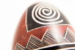Huevo de piedra de la esteatita Imagen de archivo libre de regalías
